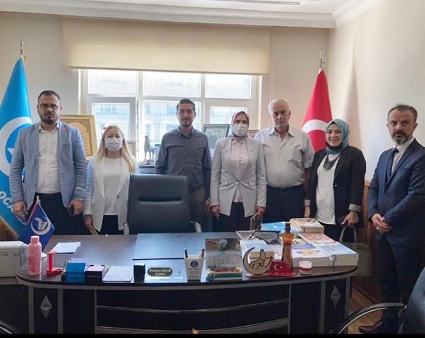 Mhp Konya Milletvekili Esin Kara Beyşehir'de