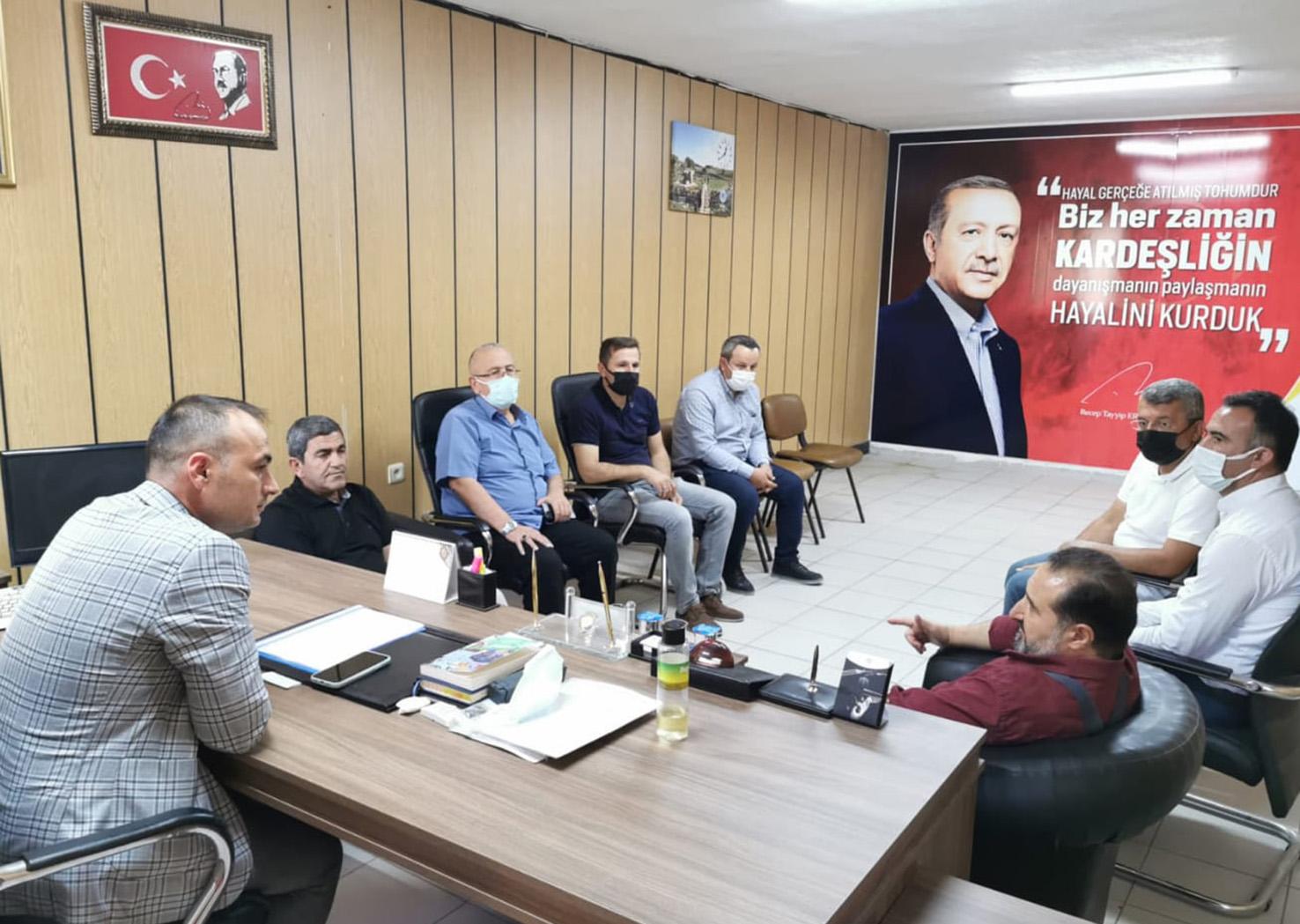 Milletvekili Özdemir Beyşehi'i Ziyaret Etti