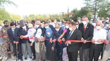Beyşehir'de Baba Oğul Anıtı, Şehitler ve Gaziler Parkı Açıldı