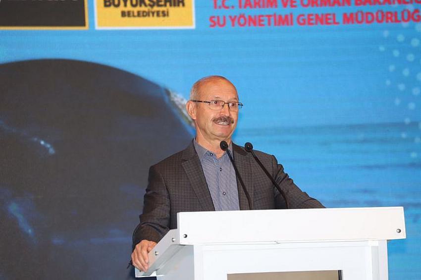 Başkan Altay: Tarımı Sürekli Kılmanın Tek Yolu Suyun Kontrollü Kullanılmasıdır