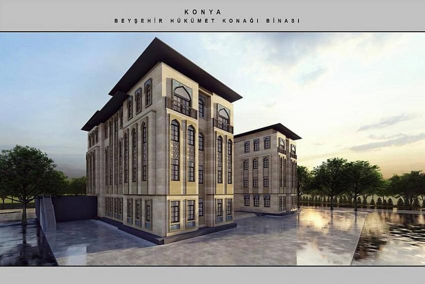 Beyşehir, Yeni Hükümet Konağına Kavuşuyor