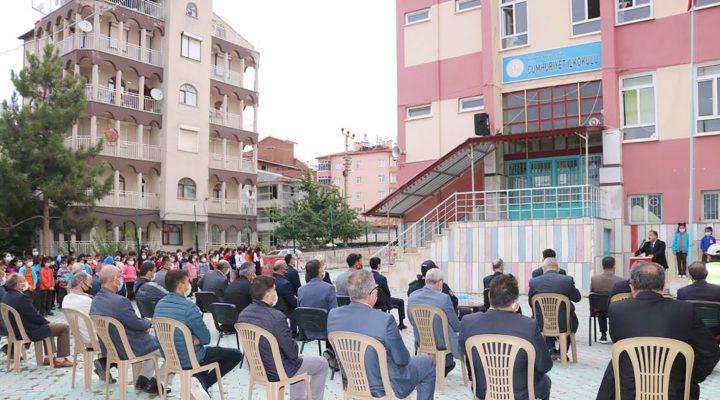 Beyşehir'de 2021-2022 eğitim öğretim yılı İlköğretim Haftası kutlama programı