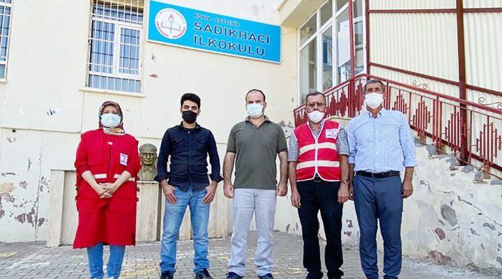 Beyşehir'de Gönüllü Öğrencilere Ücretsiz Saç Kesimi