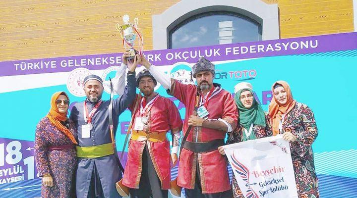 Beyşehir Geleneksel Spor Kulübü Türkiye İkincisi Oldu