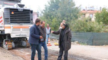 Beyşehir Belediyesi Asfalt Çalışmaları İçin Yolları Hazırlıyor